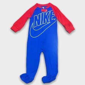 Nike Red And Blue Cotton Sleeper